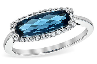 E217-41261: LDS RG 1.79 LONDON BLUE TOPAZ 1.90 TGW