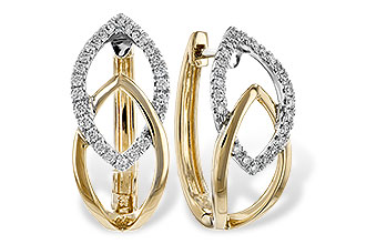 G216-53079: EARRINGS .25 TW