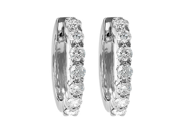 D028-30288: EARRINGS 1.00 CT TW