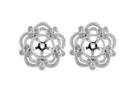 K212-85815: EARRING JACKETS .16 TW (FOR 0.50-1.00 CT TW STUDS)