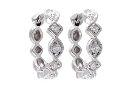 M028-27551: EARRINGS .22 TW